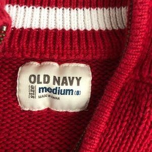 Old Navy Shirts & Tops - Boys mock turtleneck 1/4 zip sweater